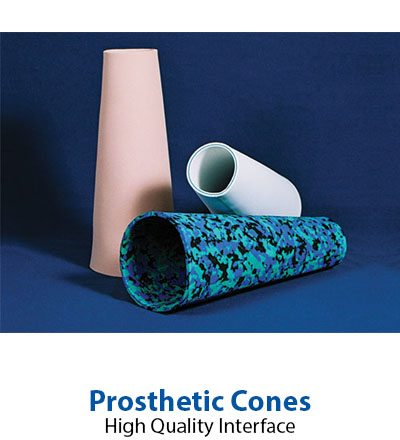 Prosthetic cones from Acor