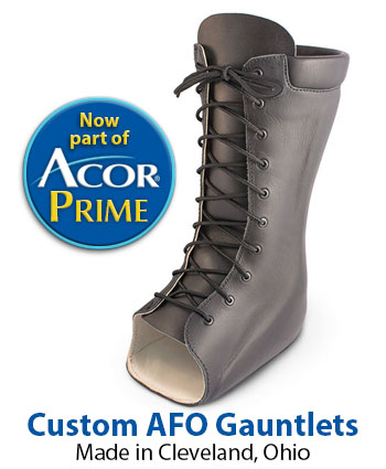 Custom AFO Gauntlets from Acor