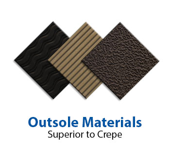 Acor outsole materials